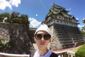 人生初の名古屋城。壮観なりー。